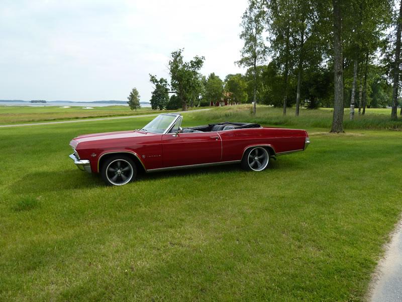 Impala 65 Cab Red